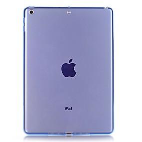 cheap Tablet Accessories-Case For Apple iPad Pro 11'' / iPad mini 4 / iPad (2017) Transparent Back Cover Solid Colored Soft TPU for iPad Air / iPad 4/3/2 / iPad Mini 3/2/1
