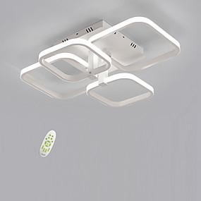 povoljno Popust-Četveronožna četvorka elektroda bez zasjenjenja vodio stropni svjetlost moderna jednostavnost dnevni boravak blagovaonica spavaća soba svjetlo