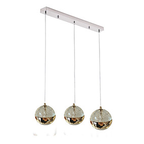 billige Hengelamper-QIHengZhaoMing 3-Light Anheng Lys Omgivelseslys Metall Øyebeskyttelse 110-120V / 220-240V Varm Hvit Pære Inkludert / G4