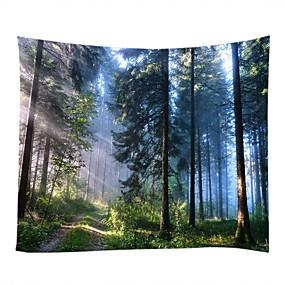 billige Wall Tapestries-Have Tema Landskab Vægdekor 100% Polyester Klassisk Moderne Vægkunst, Wall Gobeliner af