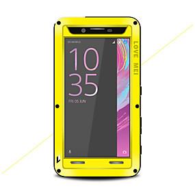 levne Pouzdra telefonu-Carcasă Pro Sony Xperia X Performance Voda / Dirt / Otřesuvzdorný Celý kryt Pevná barva Pevné Kov pro Sony Xperia X Performance