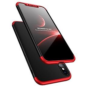 povoljno Telefoni i pribor-kutija za Apple iphone xr xs xs max otpornost na udarce / ultra - tanki slučajevi cijelog tijela čvrste boje tvrde plastike za iPhone x 8 8 plus 7 7plus 6s 6s plus se 5 5s
