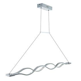 billige Hengelamper-2-Light Lineær Anheng Lys Nedlys Andre Metall Akryl Mini Stil, LED 110-120V / 220-240V Varm Hvit / Hvit / Dimbar med fjernkontroll LED lyskilde inkludert / Integrert LED