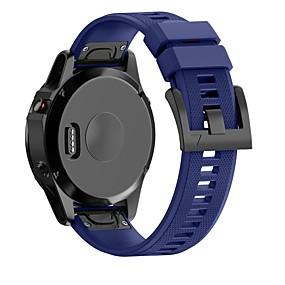 hesapli Smartwatch Bantları-Watch Band için Fenix 5x Garmin Modern Toka Silikon Bilek Askısı