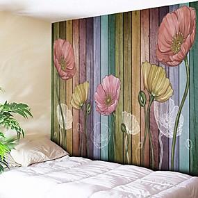 halpa Seinämaalaukset-Arkkitehtuuri Wall Decor Polyesteri Vintage Wall Art, Seinävaatteet Koriste