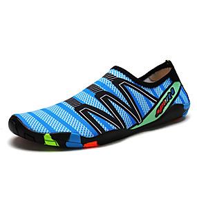 baratos Sapatos Esportivos Masculinos-Homens Sapatos Confortáveis Tecido elástico Verão Esportivo Tênis Tênis Anfíbio À Prova-de-Água Azul Escuro / Cinzento / Azul Real