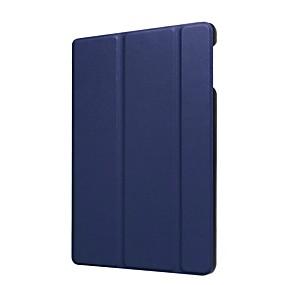 billige Andre tilfeller-Etui Til Amazon Kindle Fire hd 8(7th Generation, 2017 Release) med stativ / Ultratynn Heldekkende etui Ensfarget Hard PU Leather