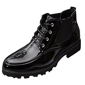 baratos Oxfords Masculinos-Homens Sapatos Confortáveis Borracha Primavera / Verão Oxfords Preto / Verde / Vermelho / Ao ar livre