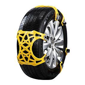 Недорогие Декор на колёса авто-12шт Автомобиль Снежные цепи Общий Тип пряжки For Автомобильное колесо For Универсальный Все модели Все года