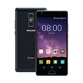 "cheap Smartphones-PHILIPS X598 5.5 inch "" 4G Smartphone (4GB + 64GB 5 mp / 13 mp MediaTek MT6750T 4000 mAh mAh) / 1920*1080"