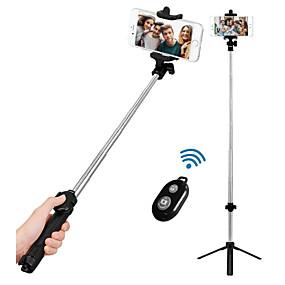 povoljno Telefoni i pribor-VORMOR Štap za selfie Bluetooth Može se proširiti Maksimalna dužina 77 cm Za Android / Univerzális / iOs Android / iOS