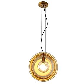 billige Hengelamper-ZHISHU Geometrisk / Mini / Originale Anheng Lys Omgivelseslys Malte Finishes Metall Glass Kreativ, Nytt Design 110-120V / 220-240V Pære Inkludert / E26 / E27