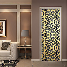 cheap Wall Stickers-Decorative Wall Stickers / Door Stickers - Plane Wall Stickers / Holiday Wall Stickers Religious / 3D Living Room / Bedroom