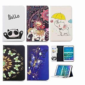 זול אביזרים לטאבלט-מגן עבור Samsung Galaxy Tab S2 8.0 ארנק / מחזיק כרטיסים / עם מעמד כיסוי מלא פיל קשיח עור PU ל Tab S2 8.0