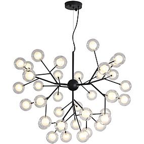 povoljno Poboljšanje uvjeta stanovanja-ZHISHU Noviteti Lusteri Ambient Light Slikano završi Metal Glass Kreativan, New Design 110-120V / 220-240V Bulb Included / G4