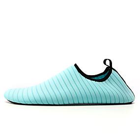 voordelige Wijdere maten schoenen-Heren Lichte zolen Elastische stof Lente zomer Sportschoenen Rivierschoenen Zwart / Lichtblauw / Fuchsia / EU39