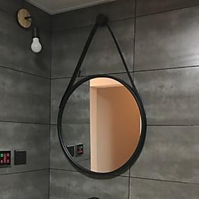 abordables Aparatos para el Baño-Espejo Espejo Contemporáneo moderno Metal 1pc - Espejo Espejo Cosmético / Decoración de baño
