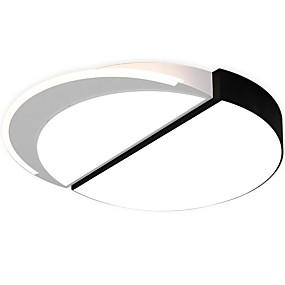 tanie Mocowanie przysufitowe-QIHengZhaoMing Podtynkowy Światło rozproszone Malowane wykończenia Metal 110-120V / 220-240V Źródło światła LED w zestawie / LED zintegrowany