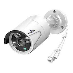 abordables Caméras IP-hiseeu® h.265 sécurité ip caméra poe 4mp extérieur étanche ip66 caméra de vidéosurveillance p2p surveillance vidéo sécurité à domicile onvif 48v