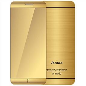 """povoljno Značajni telefoni-anica a7 telefon s super mini ultratnom karticom luksuzni bluetooth 1.63 """"inčni otporni na prašinu otporan na telefon"""