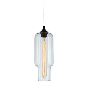 abordables Plafonniers-Circulaire / Globe / Linéaire Lampe suspendue Lumière d'ambiance Verre Verre 110-120V / 220-240V