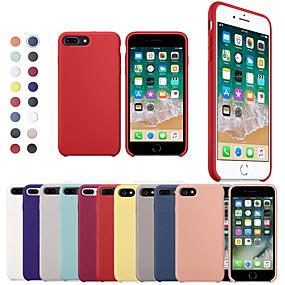 povoljno Apple oprema-kutija za jabuka iphone xr xs xs max otporna na udarce stražnja maska čvrsta boja meki silikon za iphone x 8 8 plus 7 7plus 6s 6s plus se 5 5s