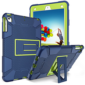 cheap Tablet Accessories-BENTOBEN Case For Apple iPad (2017) Shockproof / with Stand Full Body Cases Solid Colored Soft Silicone for iPad (2018) / iPad (2017)