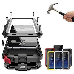 billige Telefoner og tilbehør-Etui Til Apple iPhone XS / iPhone XR / iPhone XS Max Støtsikker / Støvtett / Vannavvisende Heldekkende etui Ensfarget Hard Metall