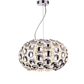 abordables Plafonniers-CXYlight 3 lumières Globe / Nouveauté Lampe suspendue Lumière d'ambiance Plaqué Acrylique Acrylique Design nouveau 110-120V / 220-240V