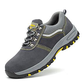 Недорогие Индивидуальная защита-защитные ботинки для безопасности на рабочем месте поставляет против резания, предотвращает наводнение, анти-пирсинг, антистатические износостойкие