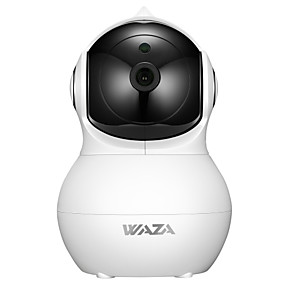 halpa IP-verkkokamerat sisäkäyttöön-WAZA SC02 2 mp IP-kamera Indoor Tuki 64 GB / PTZ / CMOS / Langaton / iPhone OS / Android