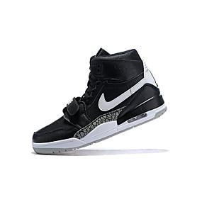 8b8f2c38dfc Pánské Kožené boty Kůže Podzim zima Atletické boty Basketbal Neklouzavá  Černobílá   Sportovní   Opotřebení důkazu