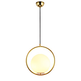 billige Hengelamper-UMEI™ Globe / geometriske / Originale Anheng Lys Omgivelseslys eloksert Metall Glass Justerbar, LED 110-120V / 220-240V Varm Hvit / Hvit