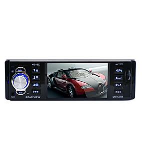 tanie Sprzęt audio samochodowy-12v Tylna kamera 4.1 HD elektronika radia samochodowe cyfrowe odtwarzacze mp5 stereo FM MP3 MP4 Video Audio USB SD samochodów w desce