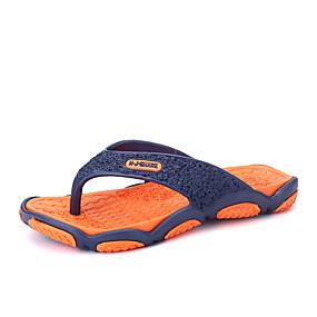 Χαμηλού Κόστους Αντρικές Παντόφλες & Σαγιονάρες-Ανδρικά Παπούτσια άνεσης EVA Καλοκαίρι Καθημερινό Παντόφλες & flip-flops Αναπνέει Φούξια / Πράσινο / Πορτοκαλ & Μαύρο