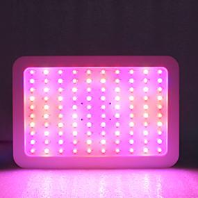 billige LED Økende Lamper-1set 1000 W 5130 lm 100 LED perler Fullt Spektrum Voksende lysarmatur Varm hvit Hvit Rød 85-265 V Kommersiell Hjem / kontor