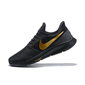 brand new f1f7f 16363 Men s Light Soles Elastic Fabric Spring   Fall Athletic Shoes Breathable  Black   Yellow   Shock-absorbing
