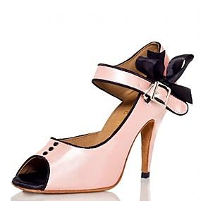 d3b3ef880351 Žene Cipele za latino plesove PU Sandale   Štikle Mašnica   Blistati Tanka  visoka peta Moguće personalizirati Plesne cipele Pink