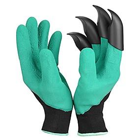 ราคาถูก กิจกรรมลานกว้าง-1 คู่สวนถุงมือขุดด้วยกรงเล็บขุดโคลนขุดถุงมือป้องกันฉนวน