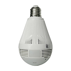 voordelige IP-camera's-hiseeu lamp licht draadloos ip camera wi-fi fisheye 960p 360 graden vr cctv camera 1.3mp beveiliging van het huis wifi camera panoramisch