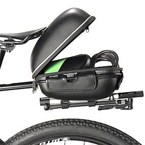 abordables Bolsas Maletero-ROCKBROS Bolsa para Guardabarro Bolsas Maletero Reflexivo Gran Capacidad Impermeable Bolsa para Bicicleta EVA de alta calidad Aleación de aluminio Bolsa para Bicicleta Bolsa de Ciclismo Ciclismo