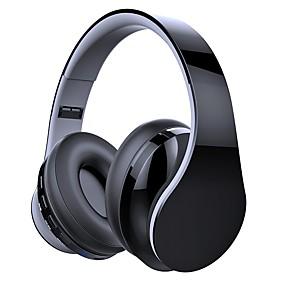 billige Hodetelefoner på øret og over øret-LITBest Over-øret hodetelefon Bluetooth 4.2 Reise og underholdning Bluetooth 4.2 Kul