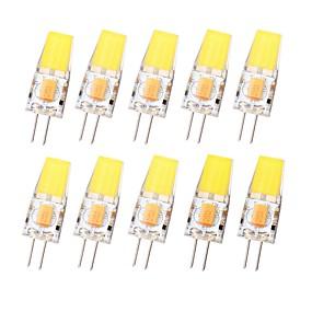 halpa Australian päivä-SENCART 10pcs 3 W LED Bi-Pin lamput 450 lm G4 T 1 LED-helmet COB Vedenkestävä Himmennettävissä Lämmin valkoinen Kylmä valkoinen 12-24 V
