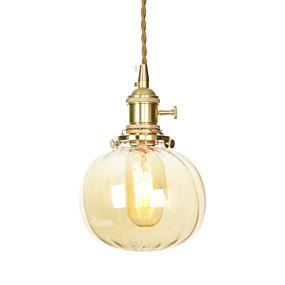 voordelige Plafondverlichting & Ventilatoren-Plafond Lichten & hangers Sfeerverlichting Messing Koper Glas Ministijl, Verstelbaar 110-120V / 220-240V