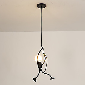 cheap Super Sales-Novelty Pendant Light Ambient Light Painted Finishes Metal Creative 110-120V / 220-240V Warm White