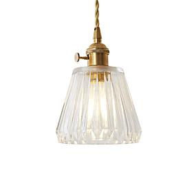 abordables Plafonniers-JSGYlights Mini Lampe suspendue Lumière d'ambiance Plaqué Métal Verre Style mini, Design nouveau 110-120V / 220-240V