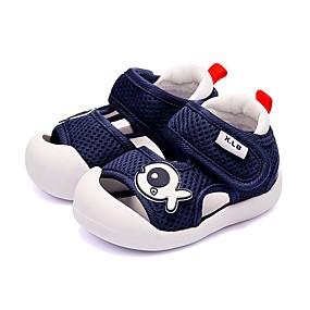 billige Sko og vesker-Jente Netting Sandaler Toddler (9m-4ys) Komfort / Første gåsko Mørkeblå / Rød / Rosa Sommer