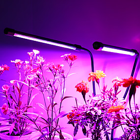 billiga LED Växtljus-1set 20 W 1000 lm 40 LED-pärlor Fullt Spektrum Bimbar Enkel att installera Växande ljusarmatur Röd Blå 5 V Hem / kontor