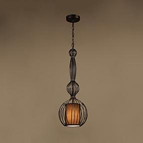 billige Hengelamper-CONTRACTED LED® geometriske / Lanterne Anheng Lys Nedlys Malte Finishes Metall Øyebeskyttelse, Kreativ, Nytt Design 110-120V / 220-240V