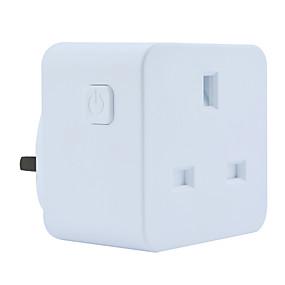 povoljno Pametna kuća-Utičnica / Smart Plug Vremenska funkcija / Ne-Hub potreban / Kontrolirajte svoj pribor s bilo kojeg mjesta 1pack ABS + PC / 750 ° C / anti-plamen retardant APP / Glasovna kontrola / Andriod 4,2 gore